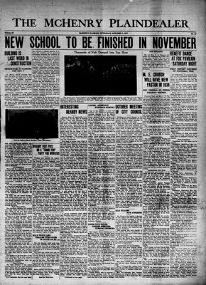 McHenry Plaindealer (McHenry, IL), 7 Oct 1937