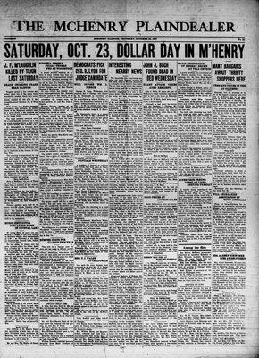 McHenry Plaindealer (McHenry, IL), 21 Oct 1937