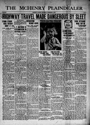 McHenry Plaindealer (McHenry, IL), 16 Dec 1937