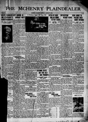 McHenry Plaindealer (McHenry, IL), 6 Jan 1938