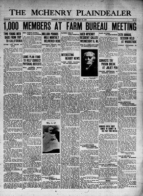 McHenry Plaindealer (McHenry, IL), 20 Jan 1938