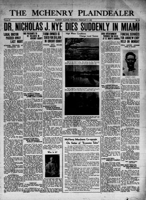 McHenry Plaindealer (McHenry, IL), 17 Feb 1938