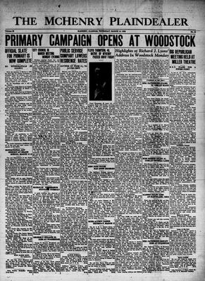 McHenry Plaindealer (McHenry, IL), 10 Mar 1938