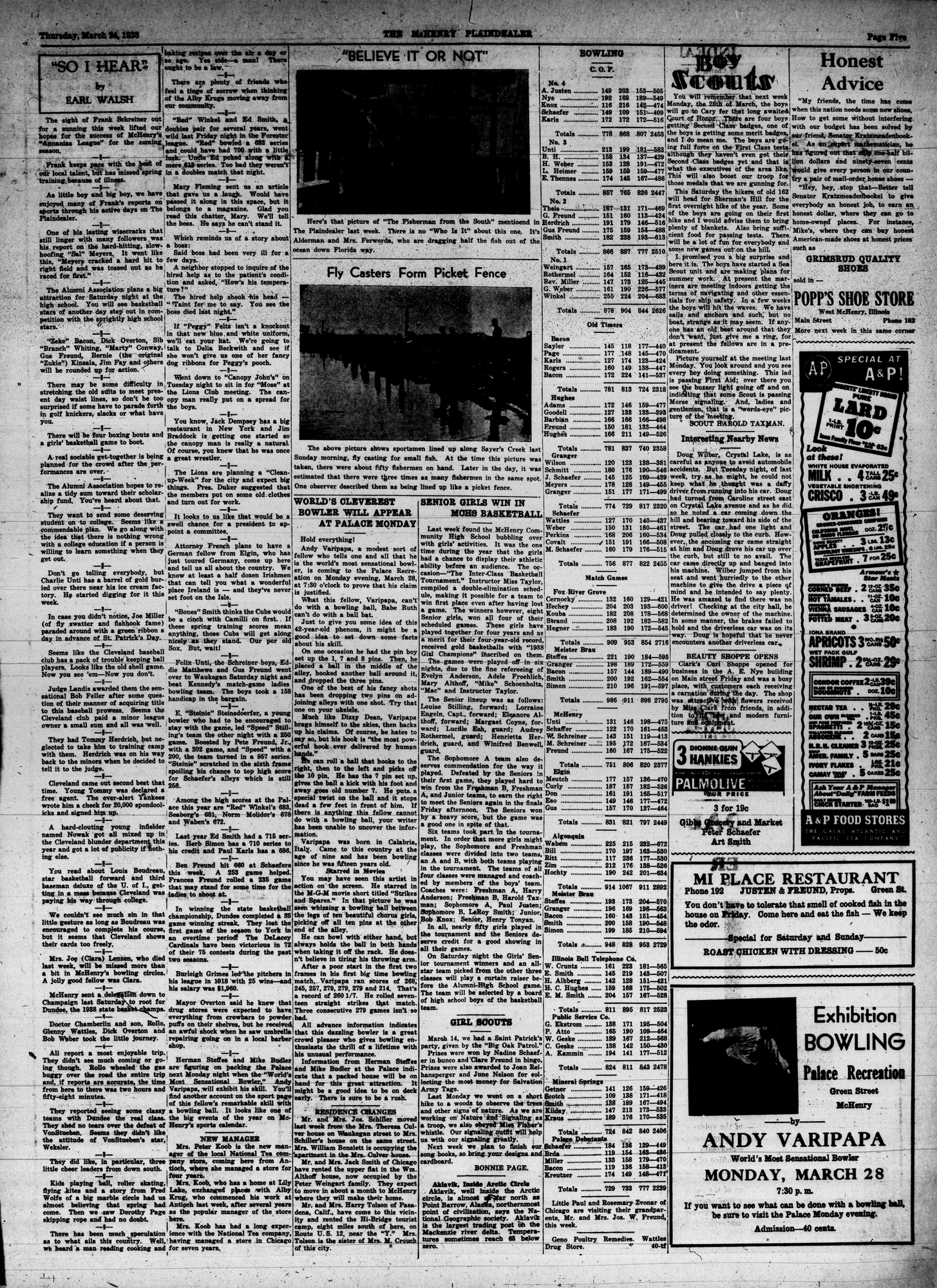 McHenry Plaindealer (McHenry, IL), 24 Mar 1938