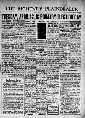 McHenry Plaindealer (McHenry, IL), 7 Apr 1938