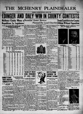 McHenry Plaindealer (McHenry, IL), 14 Apr 1938