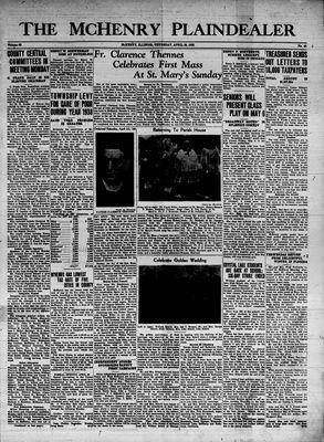 McHenry Plaindealer (McHenry, IL), 28 Apr 1938