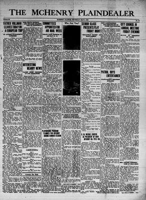 McHenry Plaindealer (McHenry, IL), 5 May 1938