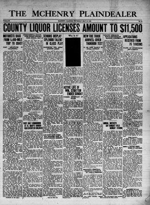 McHenry Plaindealer (McHenry, IL), 12 May 1938