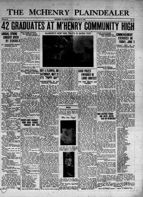 McHenry Plaindealer (McHenry, IL), 19 May 1938