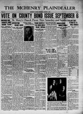 McHenry Plaindealer (McHenry, IL), 11 Aug 1938