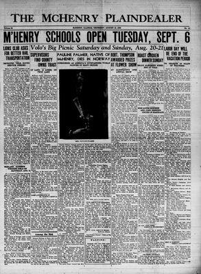 McHenry Plaindealer (McHenry, IL), 18 Aug 1938