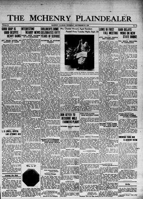 McHenry Plaindealer (McHenry, IL), 22 Sep 1938