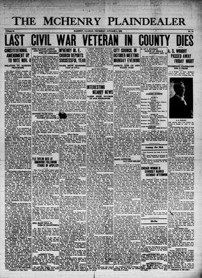 McHenry Plaindealer (McHenry, IL), 6 Oct 1938