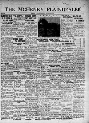 McHenry Plaindealer (McHenry, IL), 8 Dec 1938