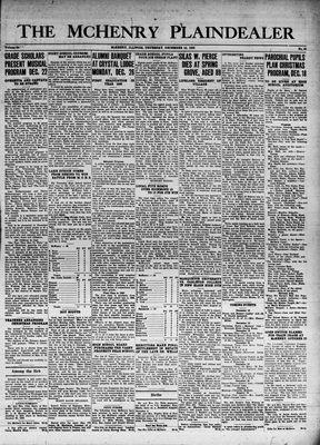 McHenry Plaindealer (McHenry, IL), 15 Dec 1938