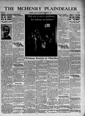 McHenry Plaindealer (McHenry, IL), 22 Dec 1938