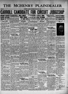 McHenry Plaindealer (McHenry, IL), 2 Feb 1939