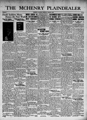 McHenry Plaindealer (McHenry, IL), 9 Mar 1939