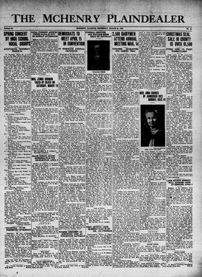 McHenry Plaindealer (McHenry, IL), 23 Mar 1939