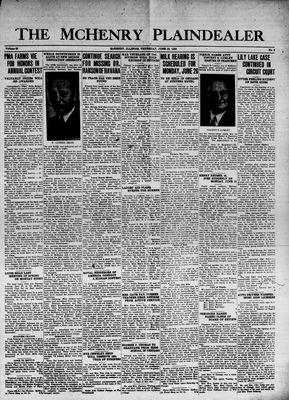 McHenry Plaindealer (McHenry, IL), 22 Jun 1939