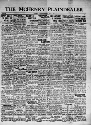 McHenry Plaindealer (McHenry, IL), 6 Jul 1939