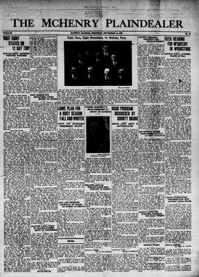 McHenry Plaindealer (McHenry, IL), 14 Sep 1939