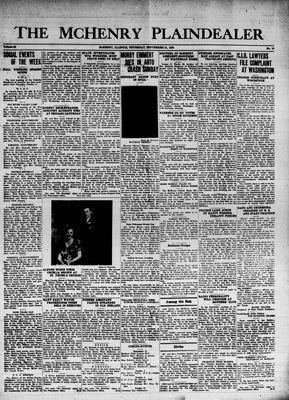 McHenry Plaindealer (McHenry, IL), 21 Sep 1939