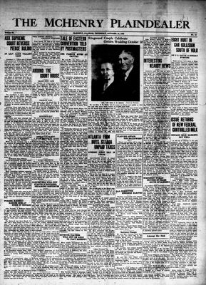 McHenry Plaindealer (McHenry, IL), 19 Oct 1939