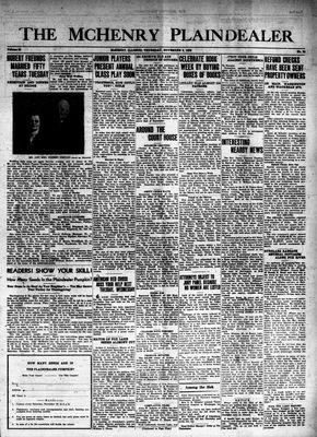 McHenry Plaindealer (McHenry, IL), 9 Nov 1939
