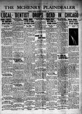 McHenry Plaindealer (McHenry, IL), 7 Dec 1939