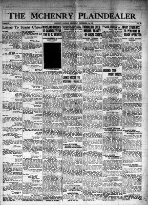 McHenry Plaindealer (McHenry, IL), 14 Dec 1939