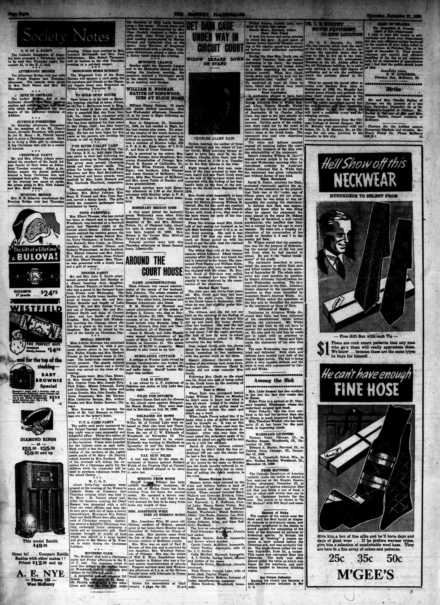 McHenry Plaindealer (McHenry, IL), 21 Dec 1913