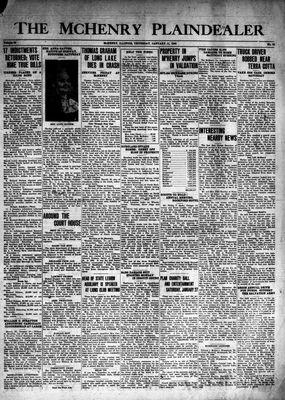 McHenry Plaindealer (McHenry, IL), 11 Jan 1940