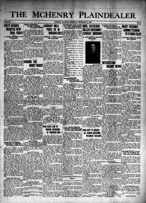 McHenry Plaindealer (McHenry, IL), 15 Feb 1940