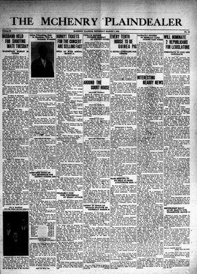McHenry Plaindealer (McHenry, IL), 7 Mar 1940