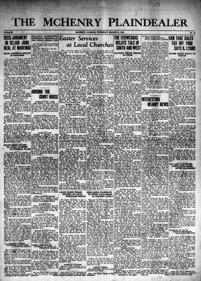 McHenry Plaindealer (McHenry, IL), 21 Mar 1940