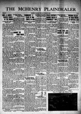 McHenry Plaindealer (McHenry, IL), 28 Mar 1940