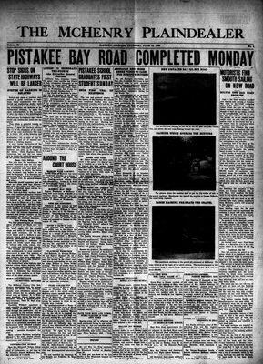 McHenry Plaindealer (McHenry, IL), 13 Jun 1940