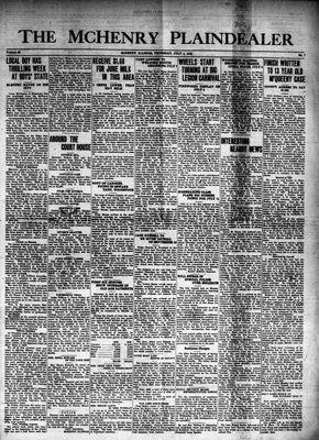 McHenry Plaindealer (McHenry, IL), 4 Jul 1940