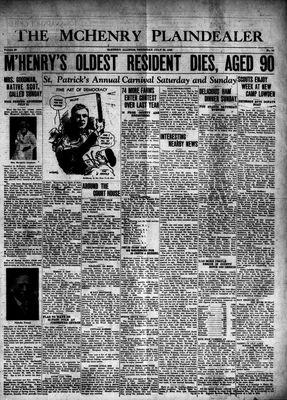 McHenry Plaindealer (McHenry, IL), 25 Jul 1940