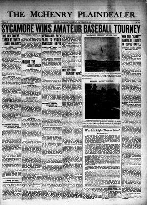 McHenry Plaindealer (McHenry, IL), 5 Sep 1940