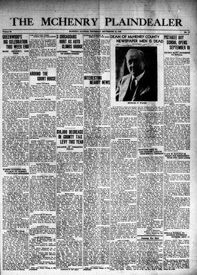 McHenry Plaindealer (McHenry, IL), 12 Sep 1940