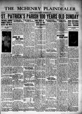 McHenry Plaindealer (McHenry, IL), 19 Sep 1940