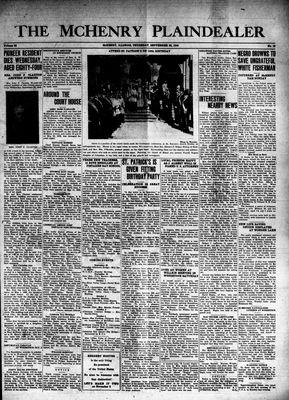 McHenry Plaindealer (McHenry, IL), 26 Sep 1940
