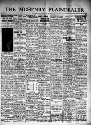 McHenry Plaindealer (McHenry, IL), 10 Oct 1940