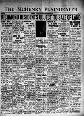 McHenry Plaindealer (McHenry, IL), 14 Nov 1940