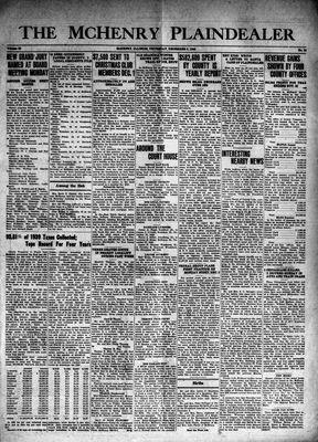 McHenry Plaindealer (McHenry, IL), 5 Dec 1940