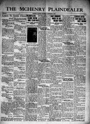 McHenry Plaindealer (McHenry, IL), 12 Dec 1940