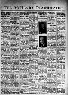 McHenry Plaindealer (McHenry, IL), 27 Feb 1941